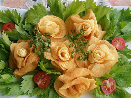 Для салатов с фото готового блюда