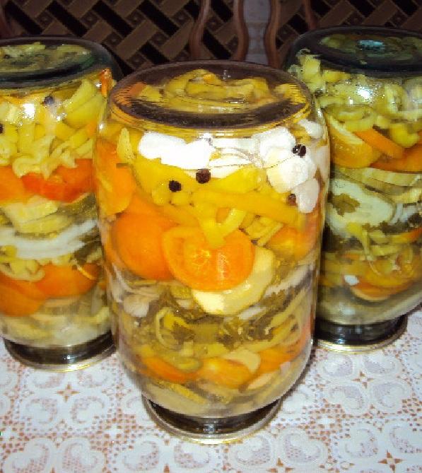 рецепты заготовок на зиму салатов из помидоров