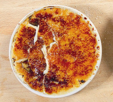 Крем брюле с мадагаскарской ванилью
