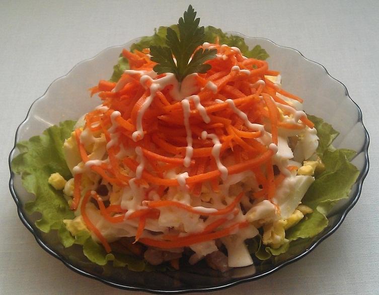 рецепт с фото праздничных салатов