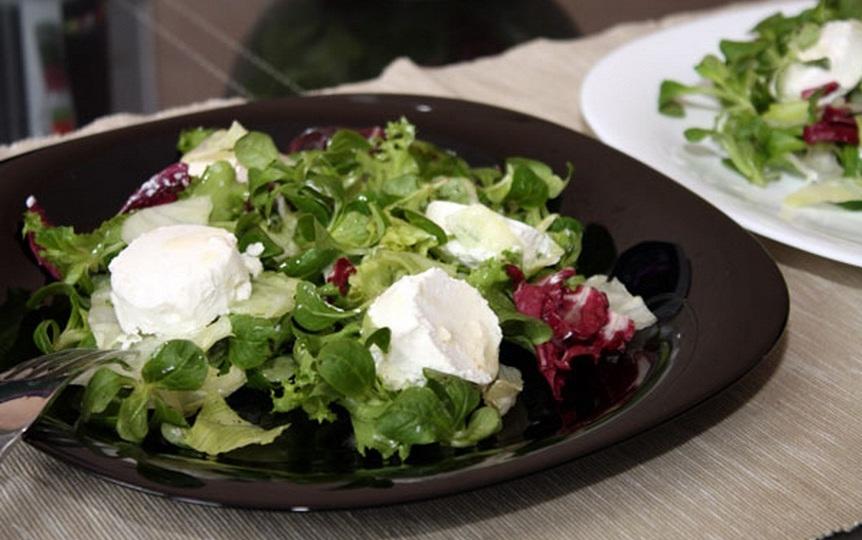 рецепт пп салата с сыром