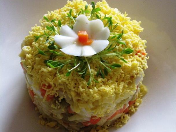 креветки рецепты приготовления салатов