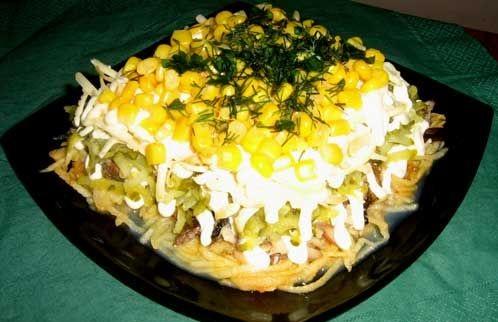 Праздничные салаты рецепты с картинками