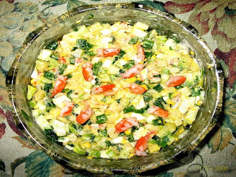 домашняя кухня рецепты салатов с фото