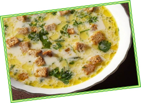суп куриный сырный с шампиньонами рецепт