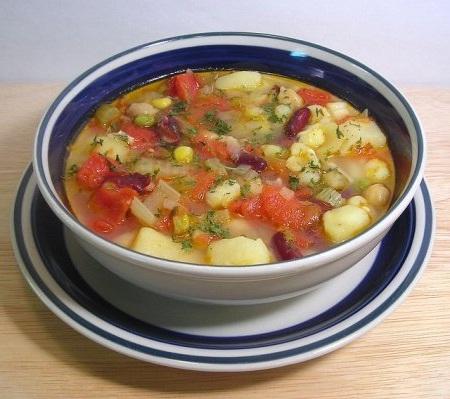 Супы без мяса рецепты фото пошагово