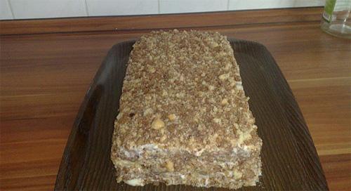 Вкусный бисквитный пирог рецепт с фото