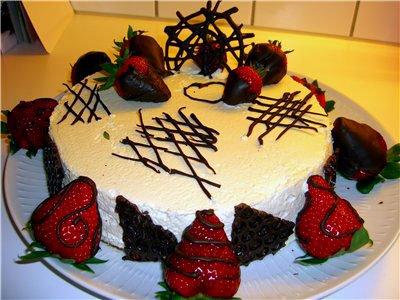 Необходимые для украшения торта
