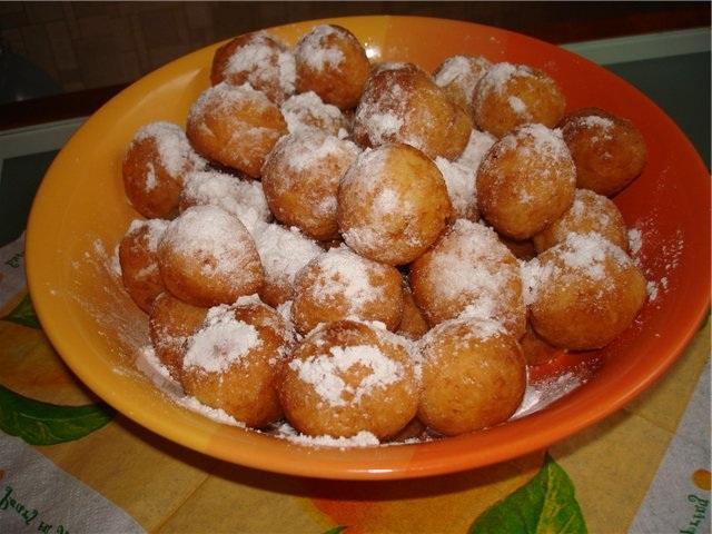 Пончики из сгущенки рецепт пошагово с фото
