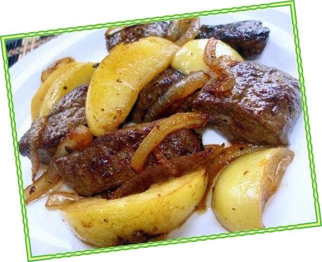 баранья печень рецепты приготовления на сковороде с фото